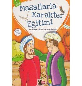 Masallarla Karakter Eğitimi 5 Kitap