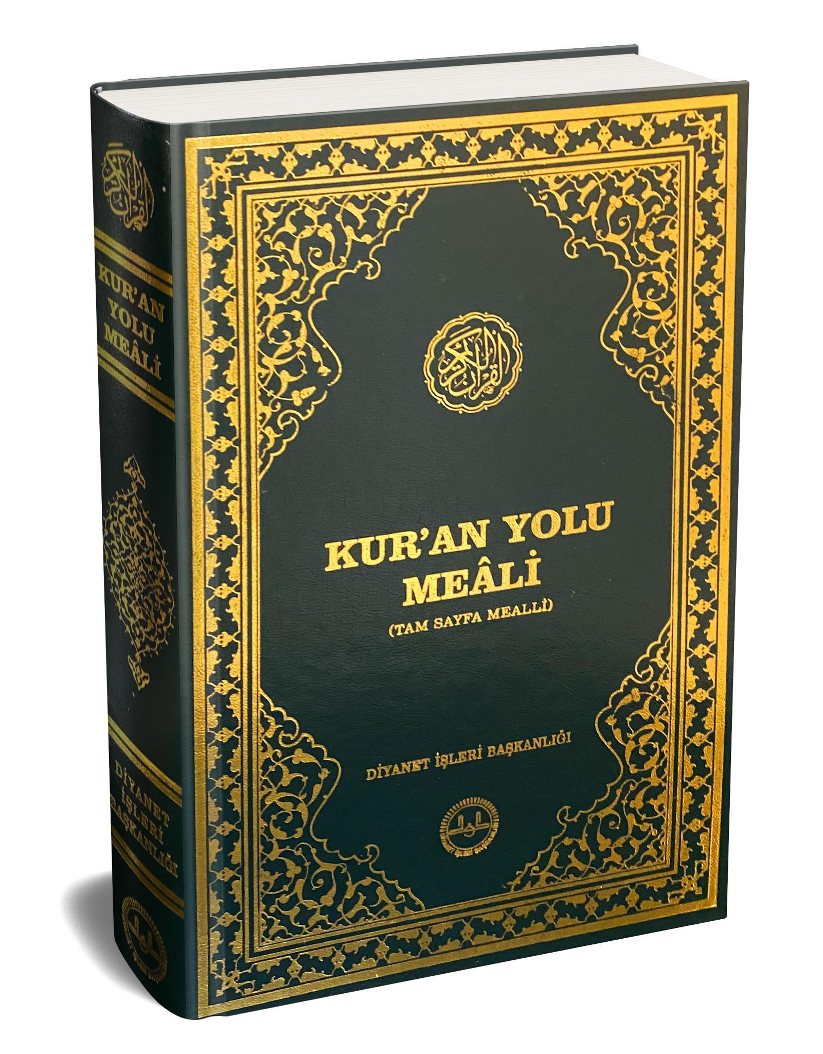 Kur'an Yolu Meali Bilgisayar Hatlı Orta Boy Tam Sayfa Mealli