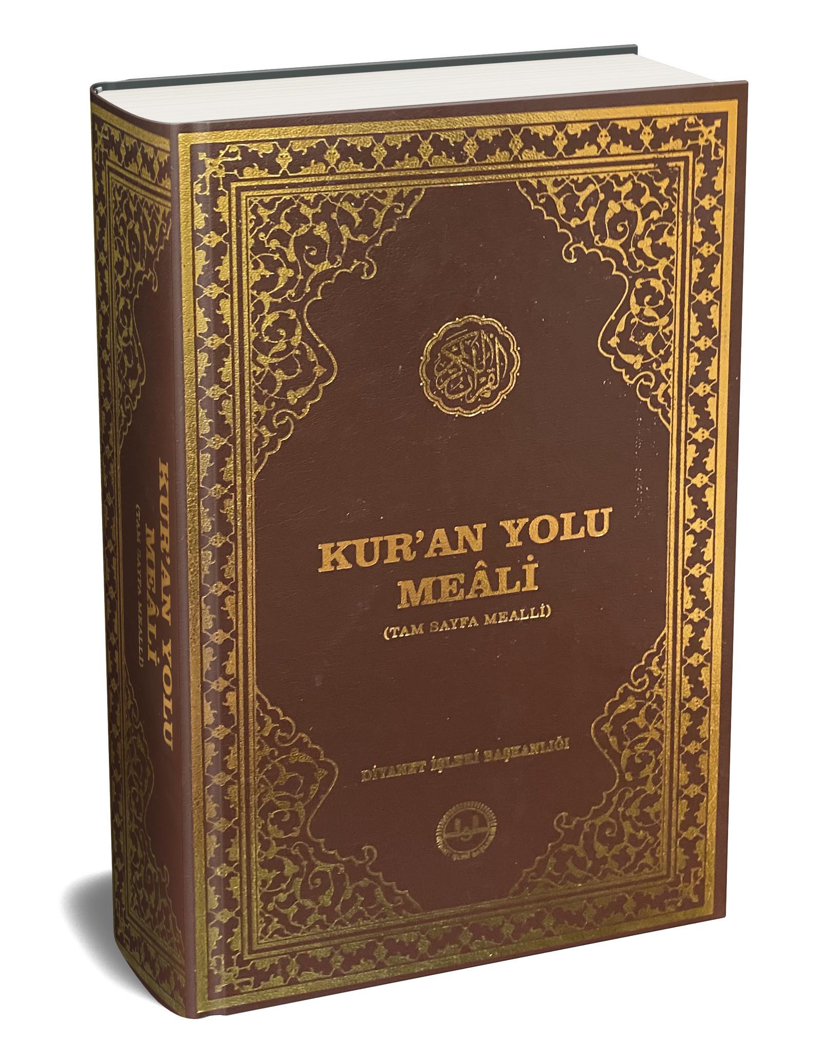 Kur'an Yolu Meali Bilgisayar Hatlı Hafız Boy Tam Sayfa Mealli