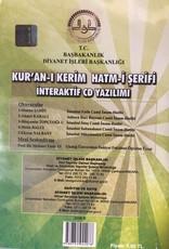 Diyanet İşleri Başkanlığı Yayınları Kur'anı Kerim Hatmi Şerif İnteraktif CD Yazılım