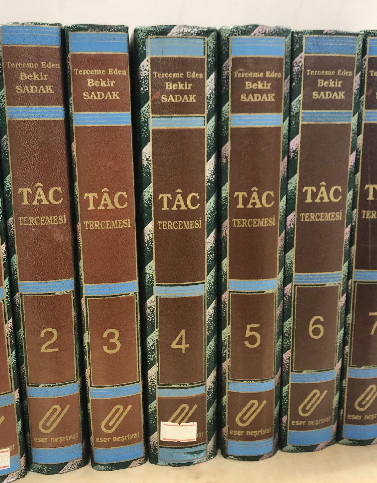 Tac Tercemesi  (1-8 Cild)