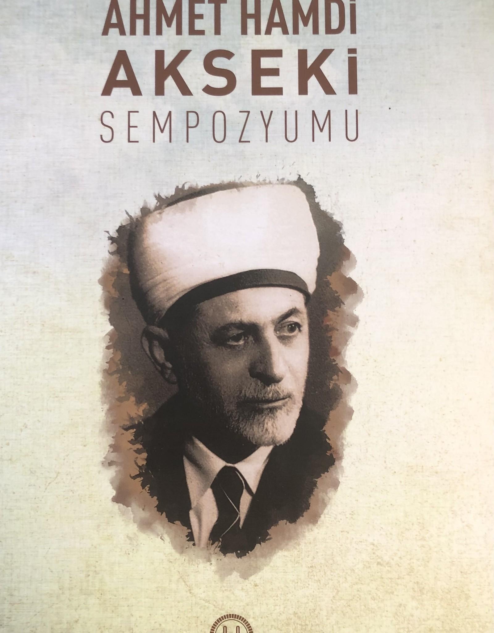 Ahmet Hamdi Akseki Sempozyumu