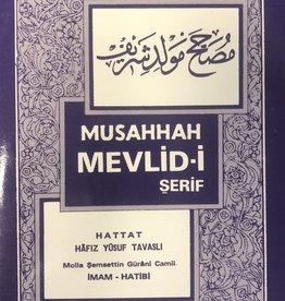 Musahhah Mevlid-i Şerif