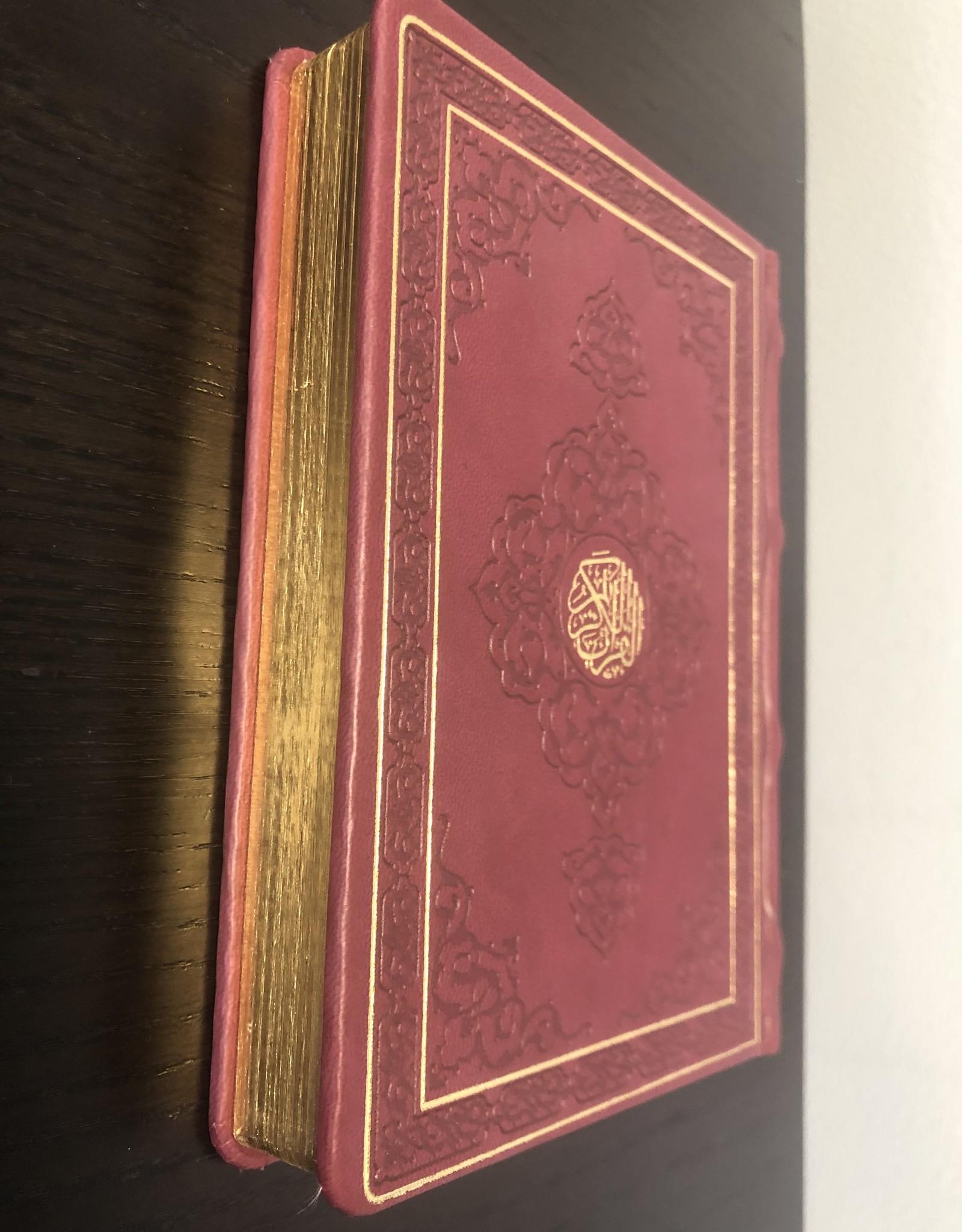 Kur'an-ı Kerim Küçük  Boy Hafız Osman Hattı Deri Kapak