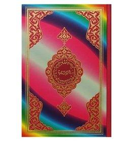 Kur'an-ı Kerim Rahle Boy Gökkuşağı