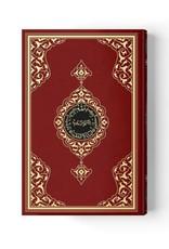 Kur'anı Kerim Rahle Boy Kırmızı Renkli