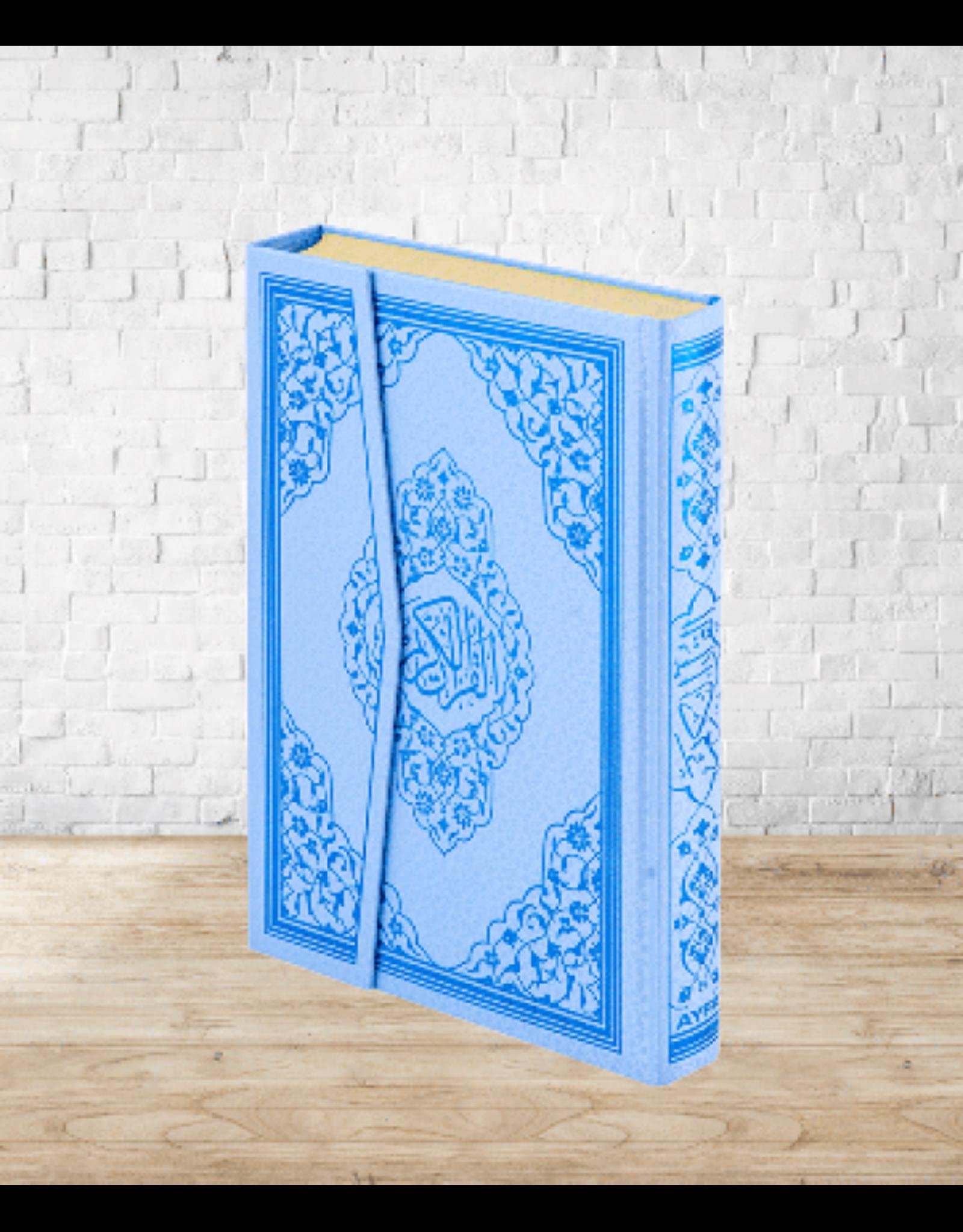 Kur'an-ı Kerim Orta Boy Mavi Renk
