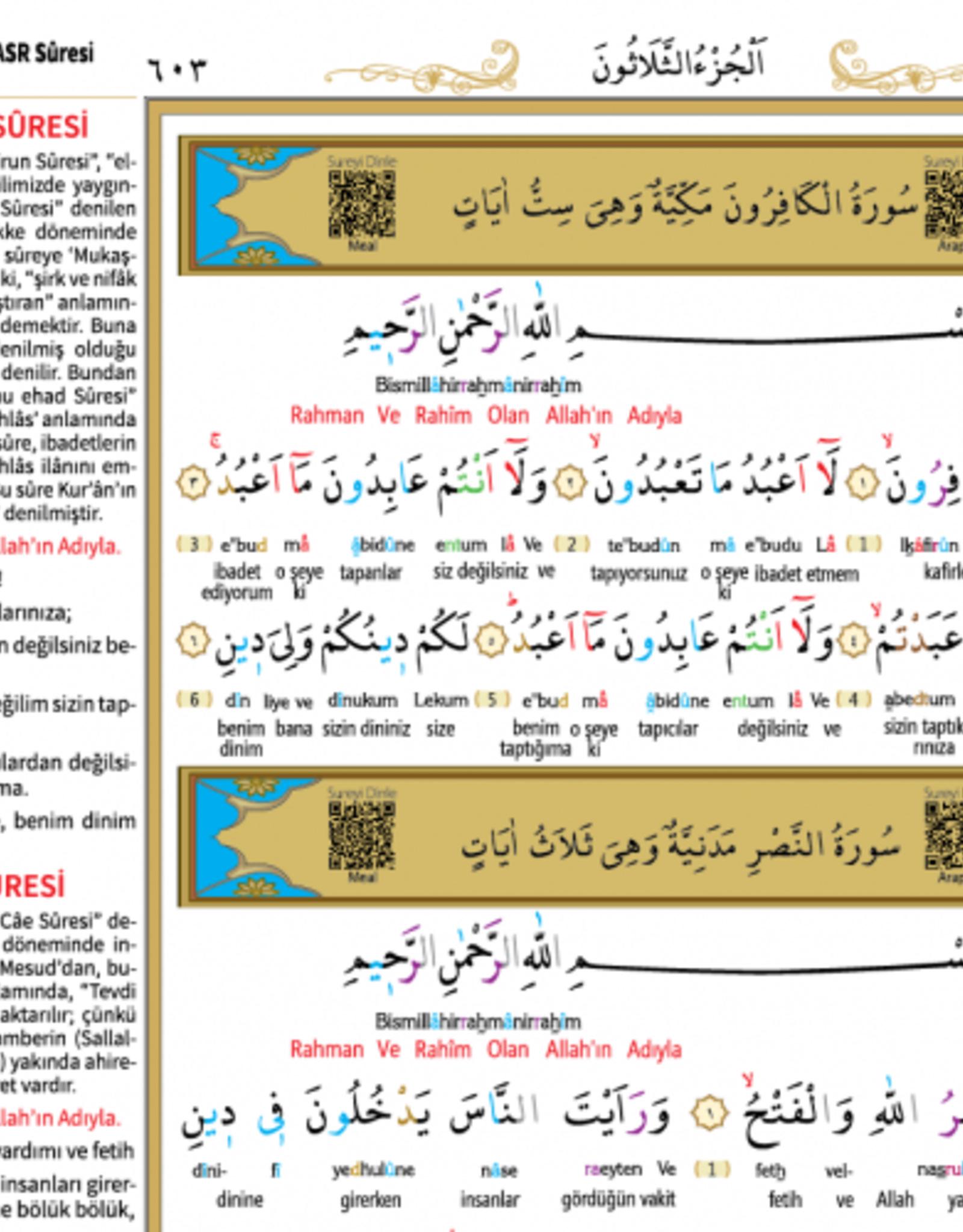 Kur'anı Kerim Rahle Boy Meal 5 Özellikli