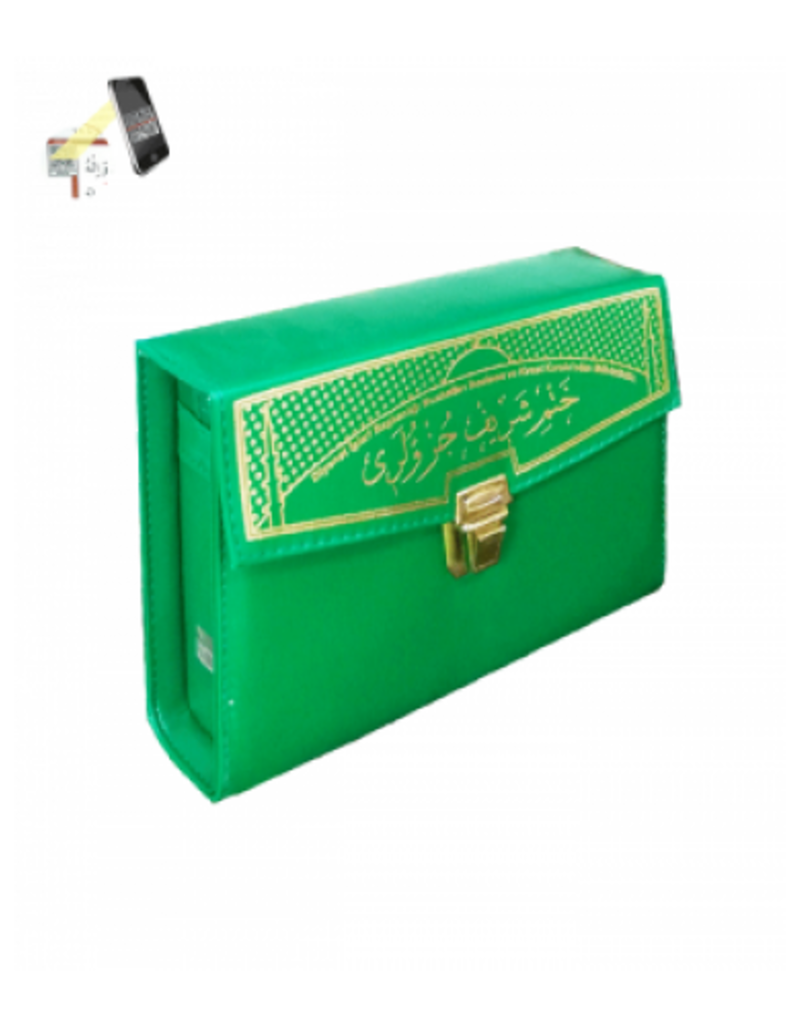 Kur'anı Kerim 30 Cüz Rahle boy Yeşil