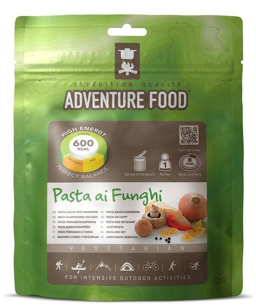 Adventure Food Pasta Cheese with Mushroom
