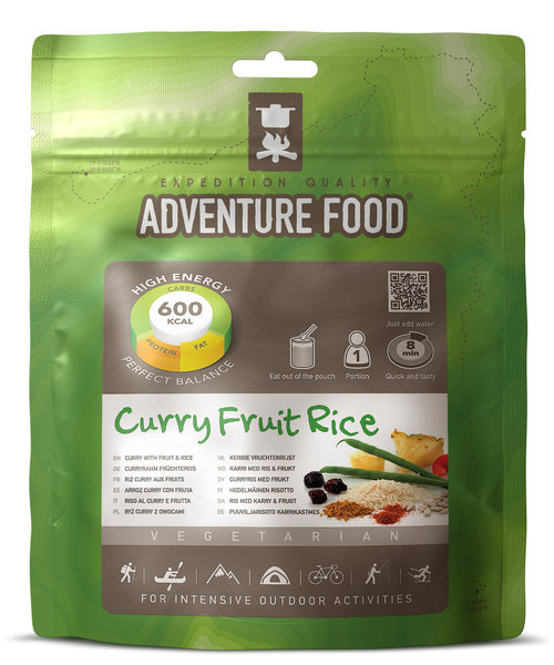 Adventure Food Curry with Fruit & Rice