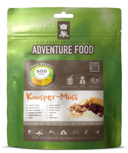 Adventure Food Knusper-Müsli