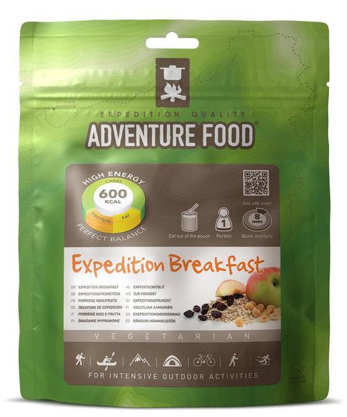 Adventure Food Desayuno de expedición