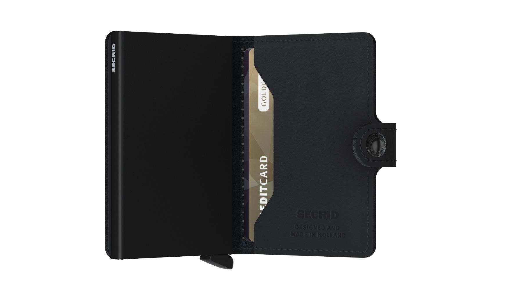 Secrid Portefeuille Secrid Miniwallet Perforated Black