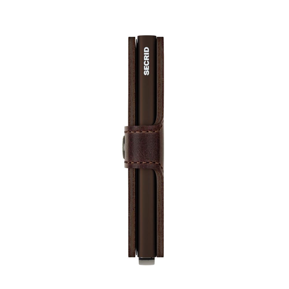 Secrid Portefeuille Secrid Miniwallet Vintage Chocolate