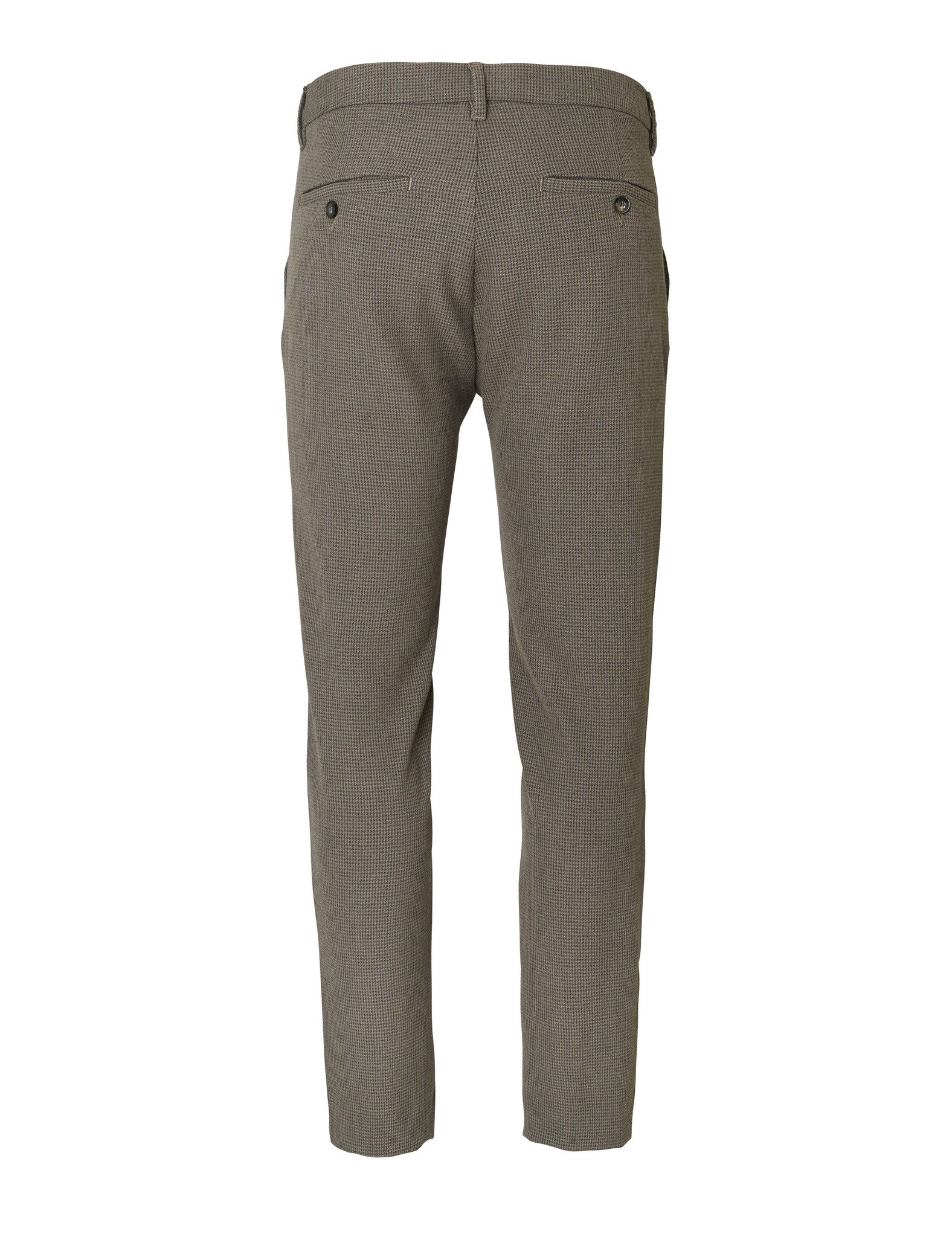 Plain Broek Plain JOSH 949 KHAKI GRID