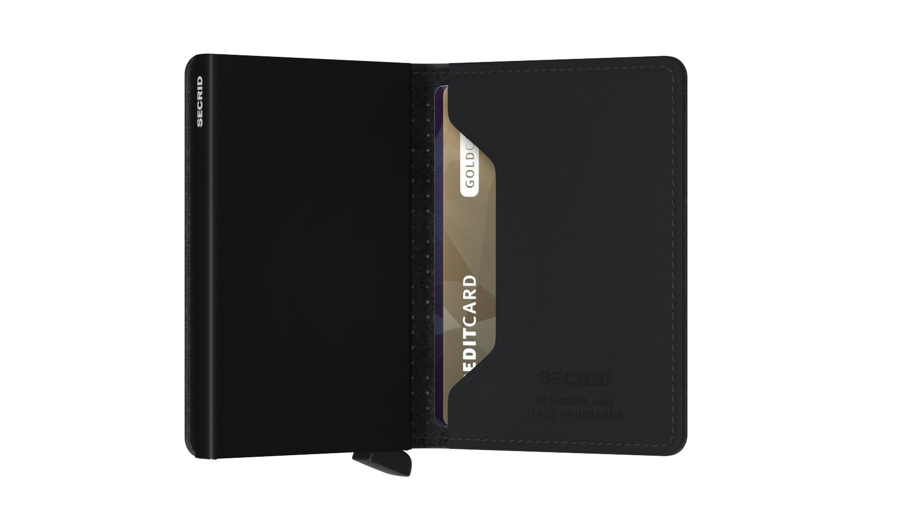 Secrid Portefeuille Secrid Slimwallet Perforated Black