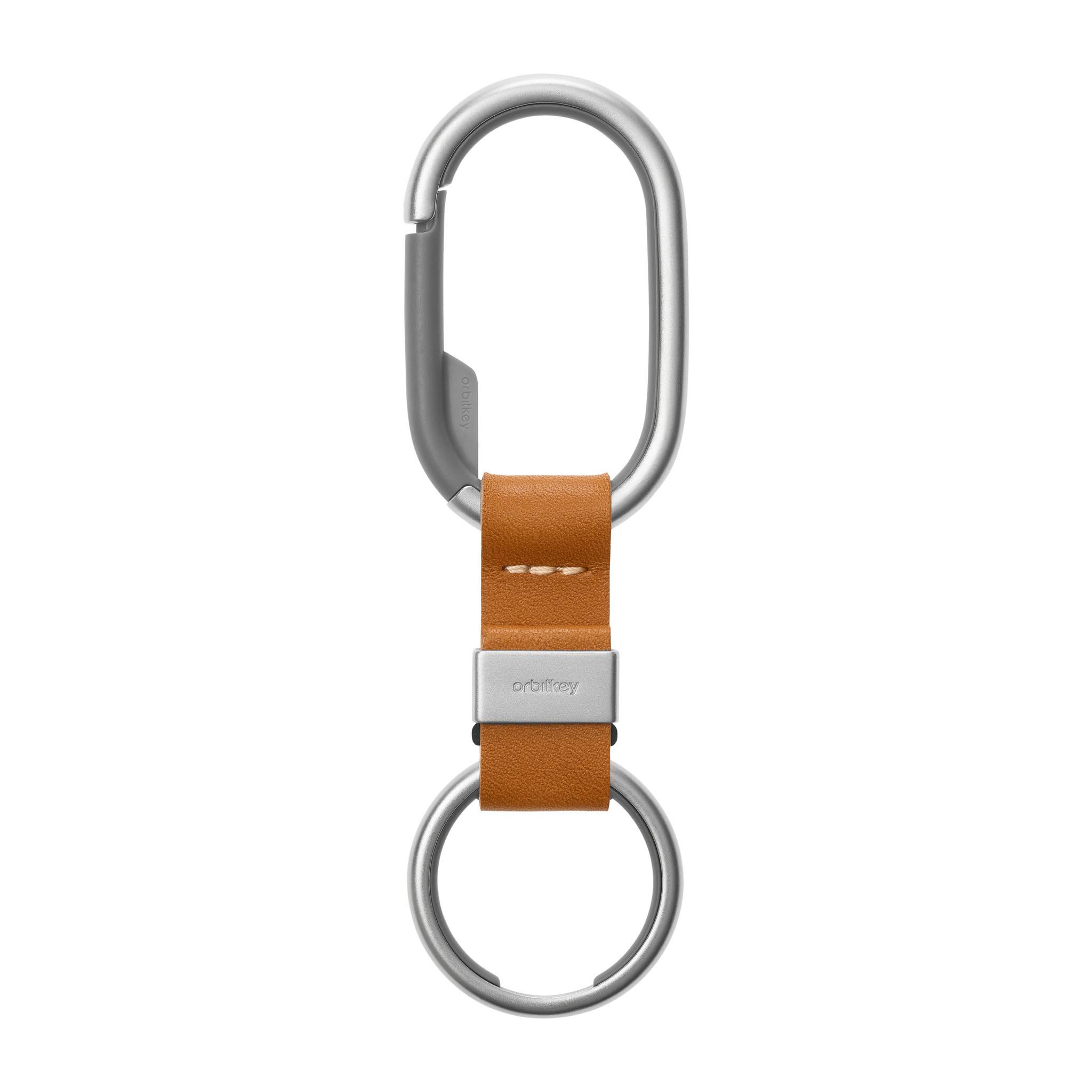 Orbitkey Accessoires Orbitkey Clip Tan / White Stitching