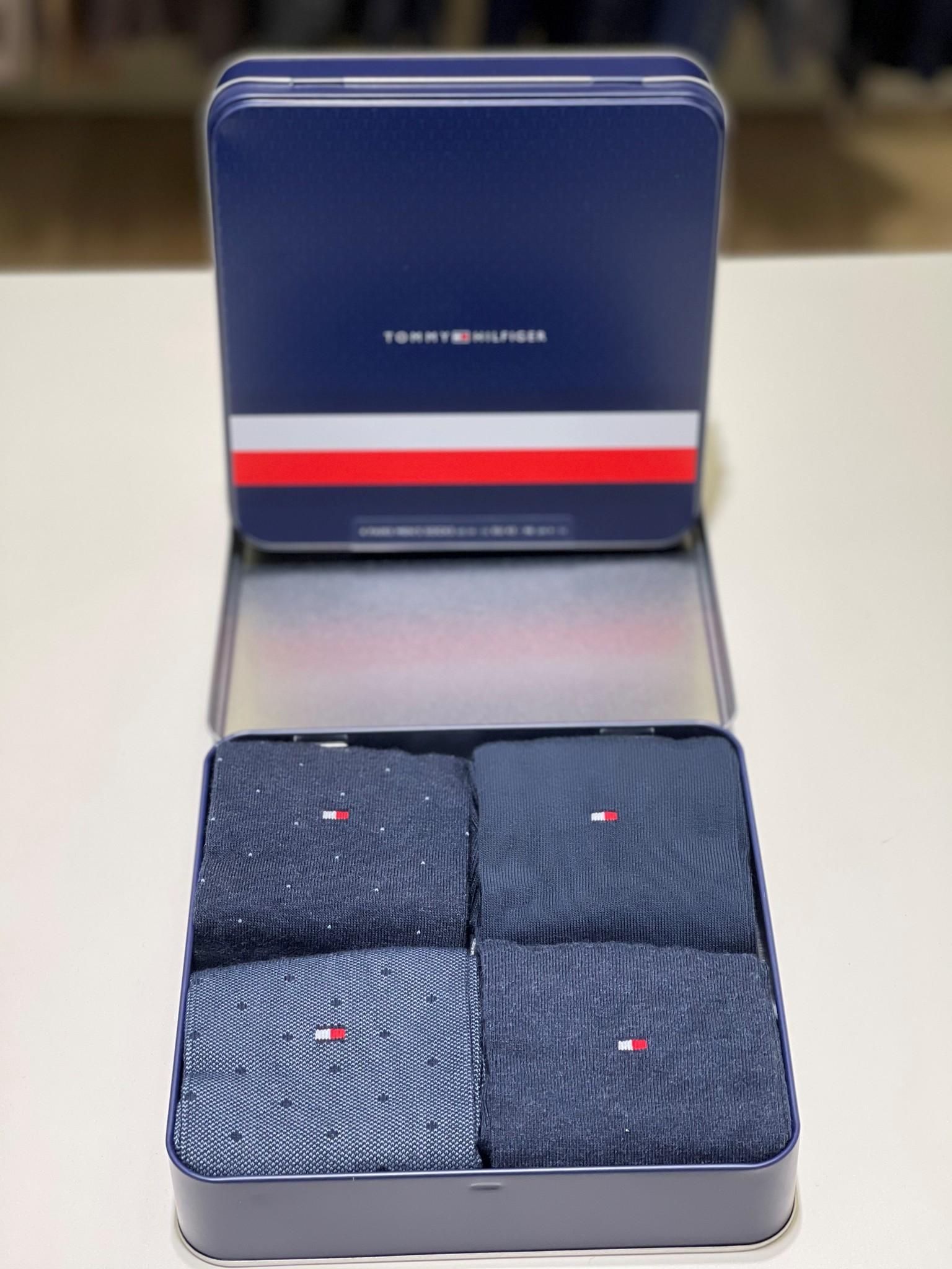 Tommy Hilfiger Sokken Tommy Hilfiger 492001001-322 Giftbox 4p