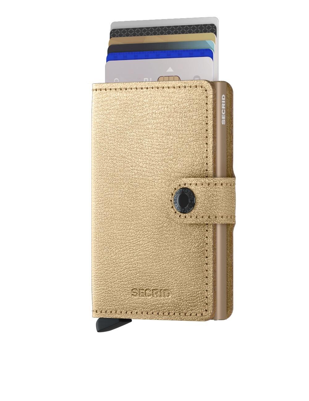 Secrid Portefeuille Secrid Miniwallet Antique Gold