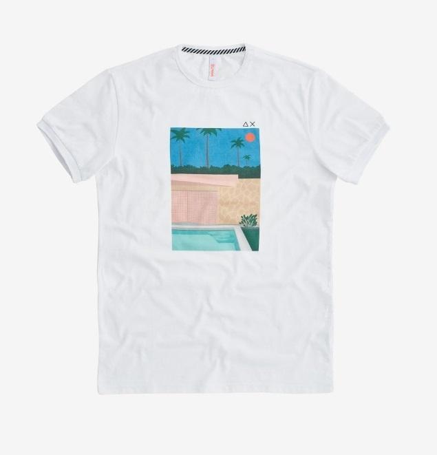 Sun68 T-shirt Sun68 T31108-0112