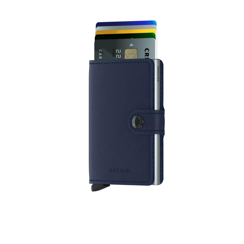 Secrid Portefeuille Secrid Miniwallet Original Navy-Blue