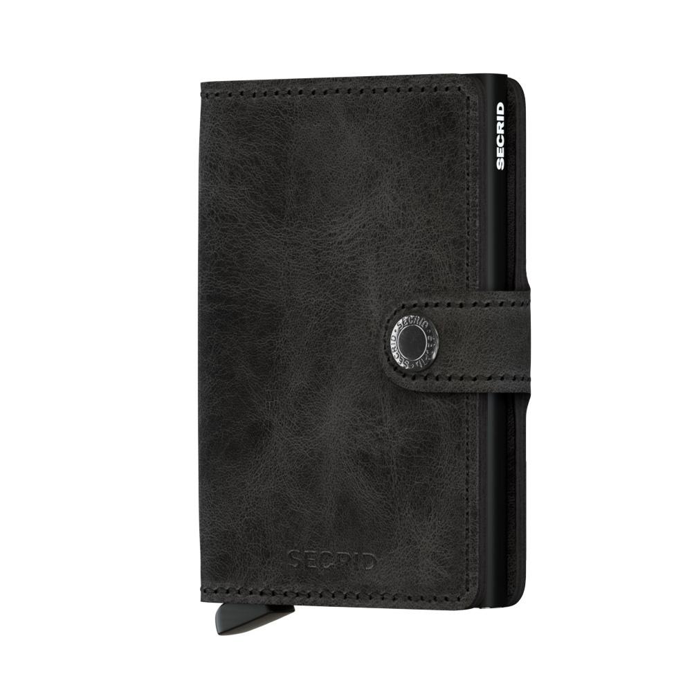 Secrid Portefeuille Secrid Miniwallet Vintage Black