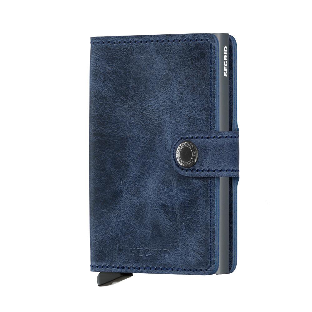 Secrid Portefeuille Secrid Miniwallet Vintage Blue