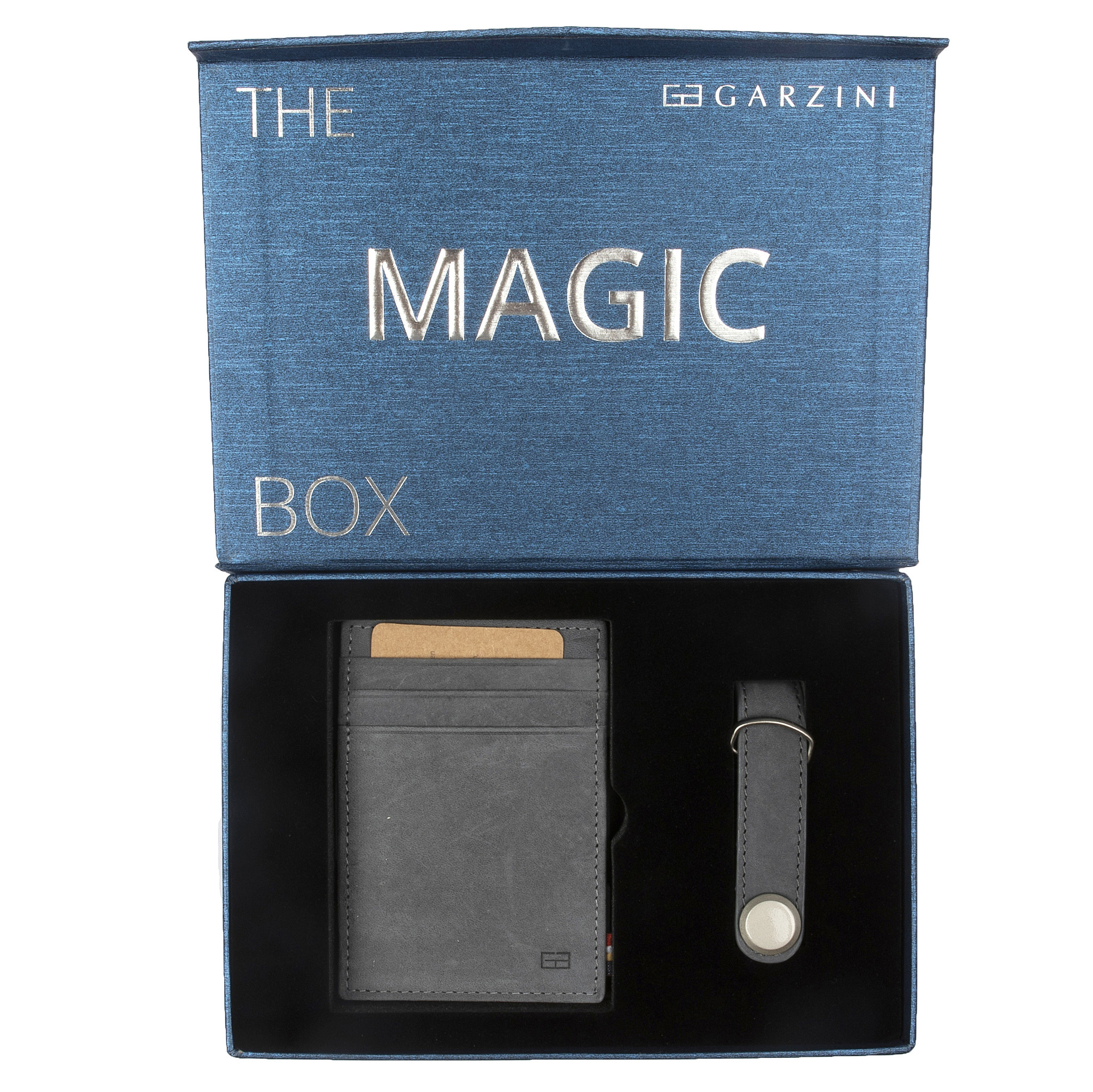 Garzini Portefeuille Garzini Garzini Gift Box Sapphire Blue