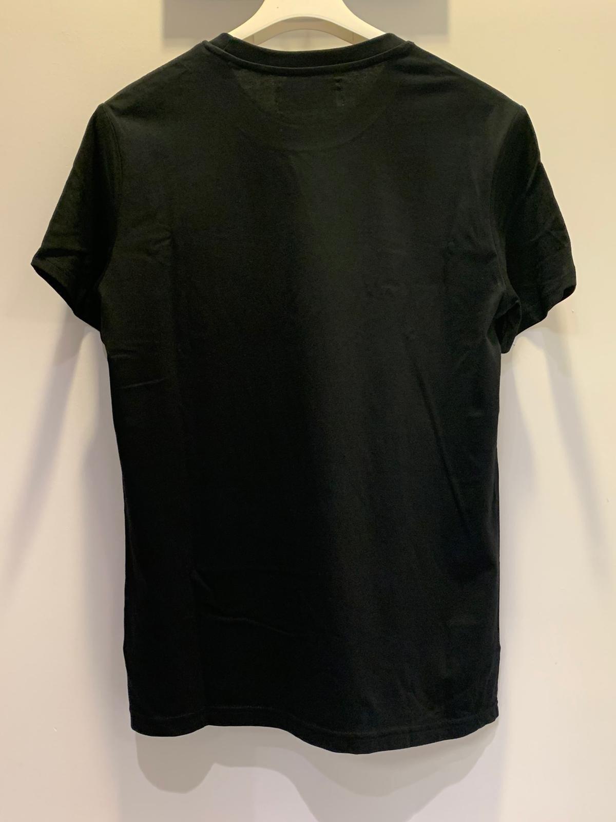 Deux Belges T-shirt Deux Belges Neil FRZA Black
