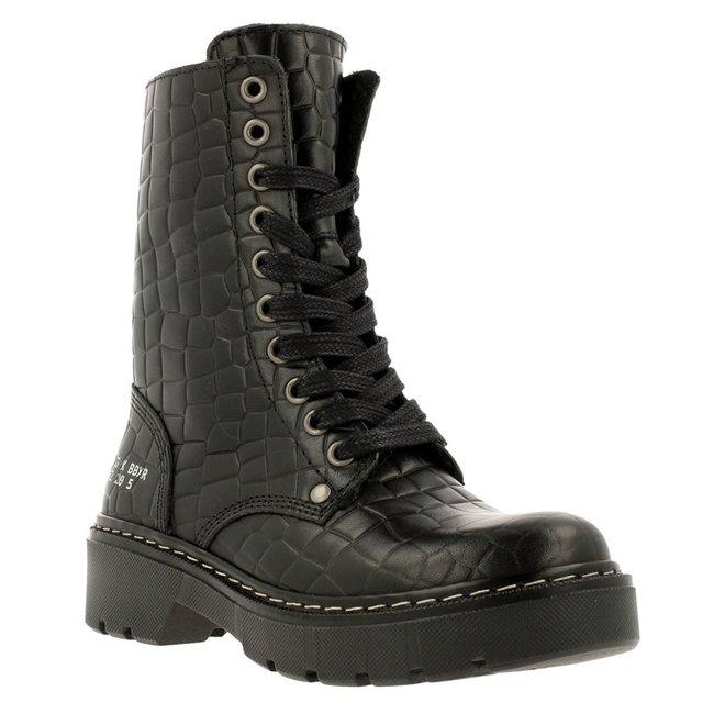 Biker Boots Black AON523E6L_BLCRKB