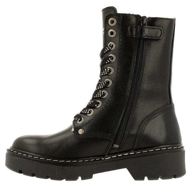 Biker Boots Black AON523E6L_BKBGKB