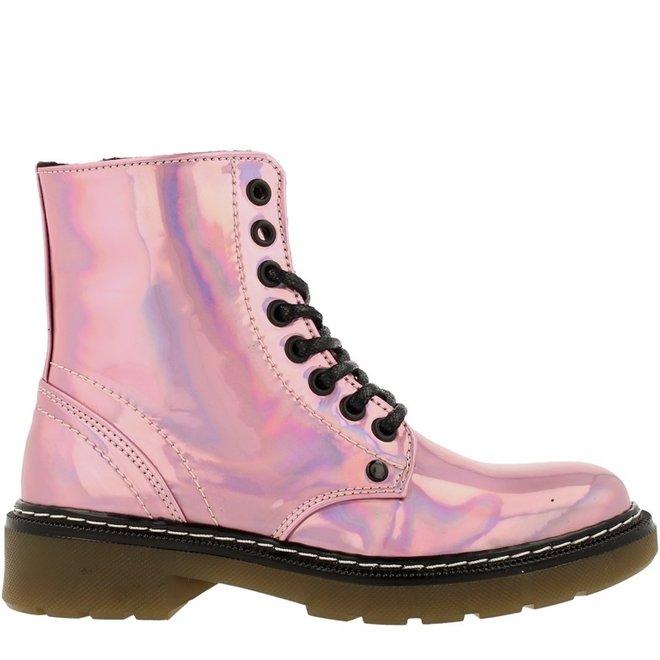 Biker-Boots Rosa
