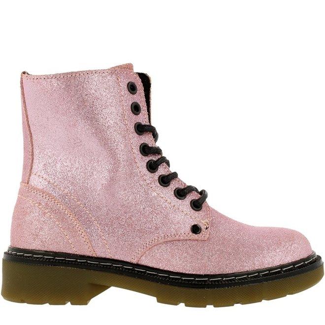 Biker Boots Pink