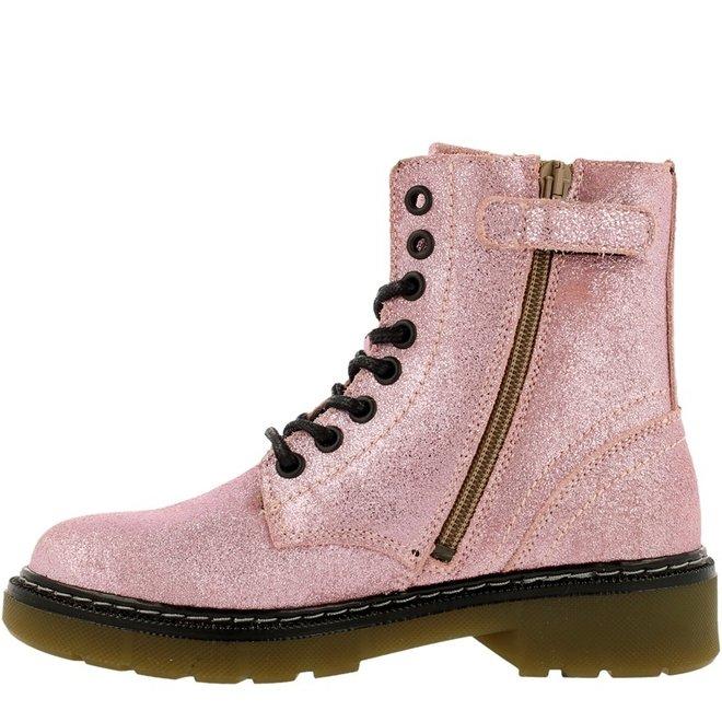 Biker Boots Pink AOL501E6LGPIGLKB