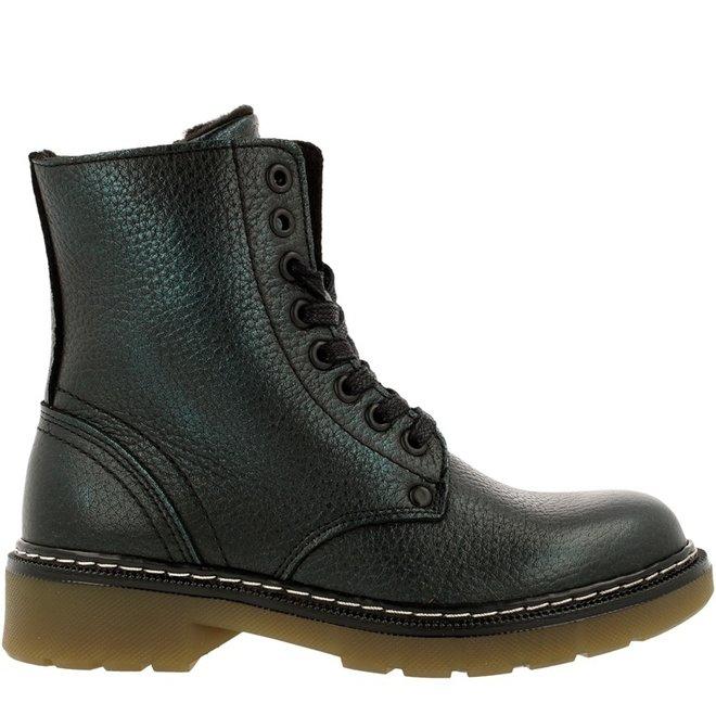 Biker Boots Green AOL501E6LGPETRKB