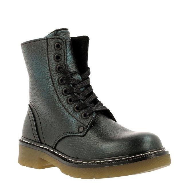 Biker-Boots Grün AOL501E6LGPETRKB