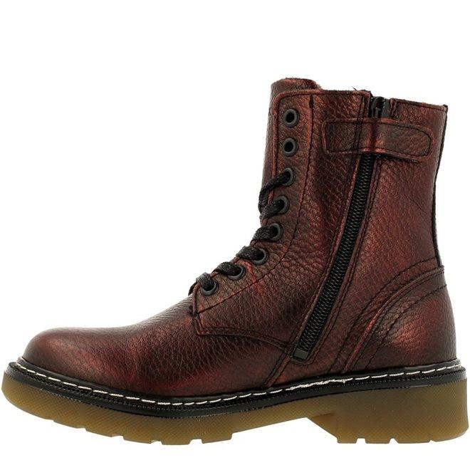Biker Boots Red AOL501E6LGMLZNKB