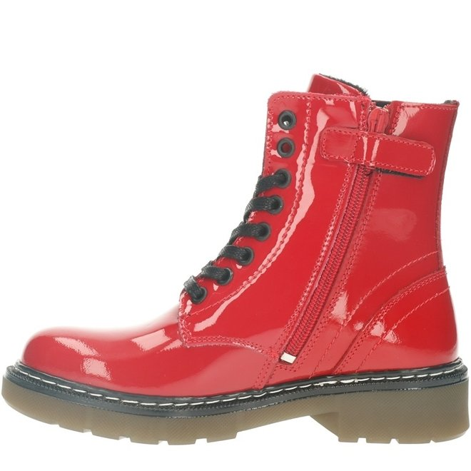 Biker Boots Red AOL501E6LGCHLLKB