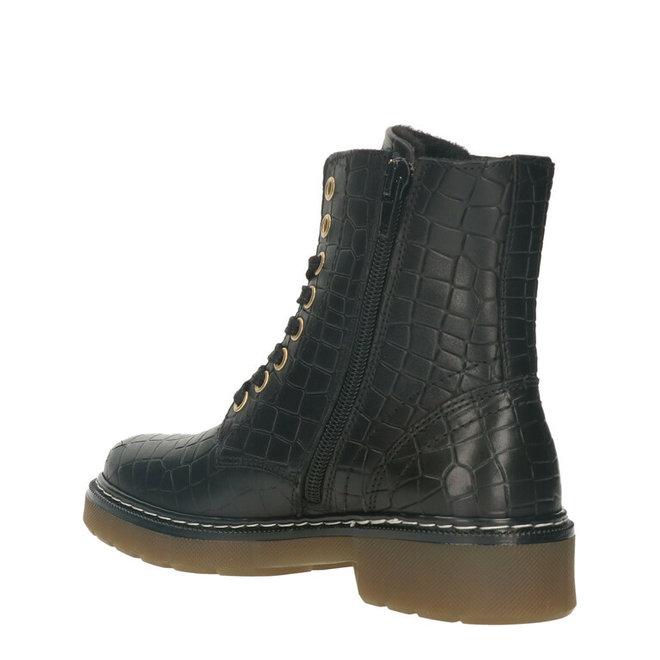 Biker Boots Black AOL501E6LGBLCRKB