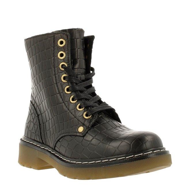 Biker Boots Zwart AOL501E6LCBLCRKB