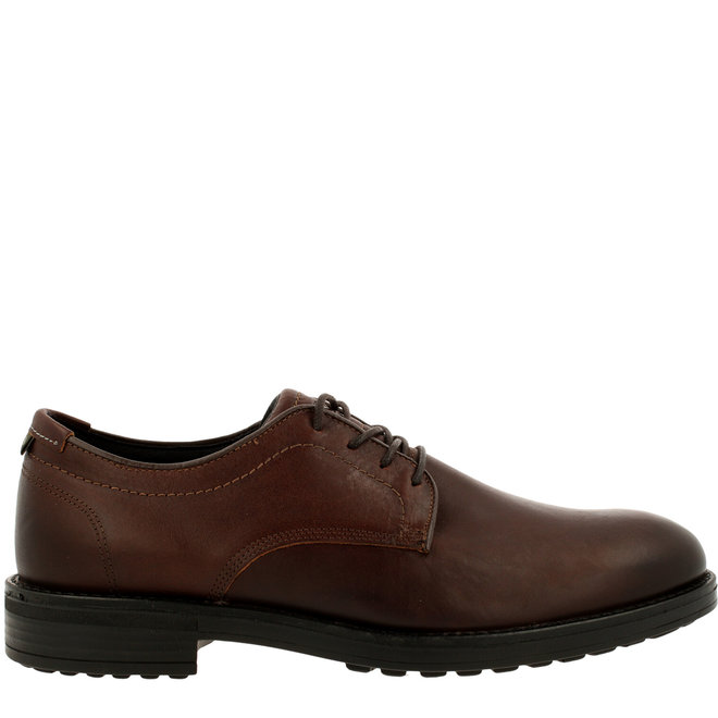 Cali Low Derby Lace-up Shoes Brown