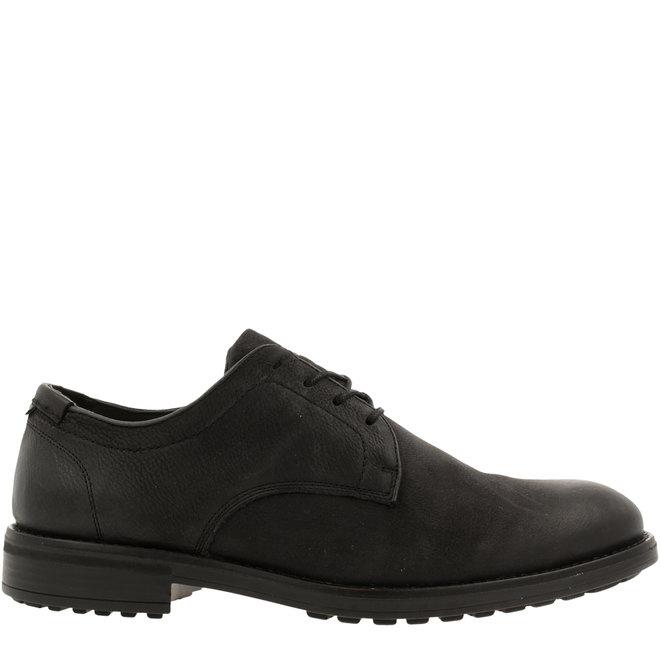 Cali Low Derby Lace-up Shoes Black