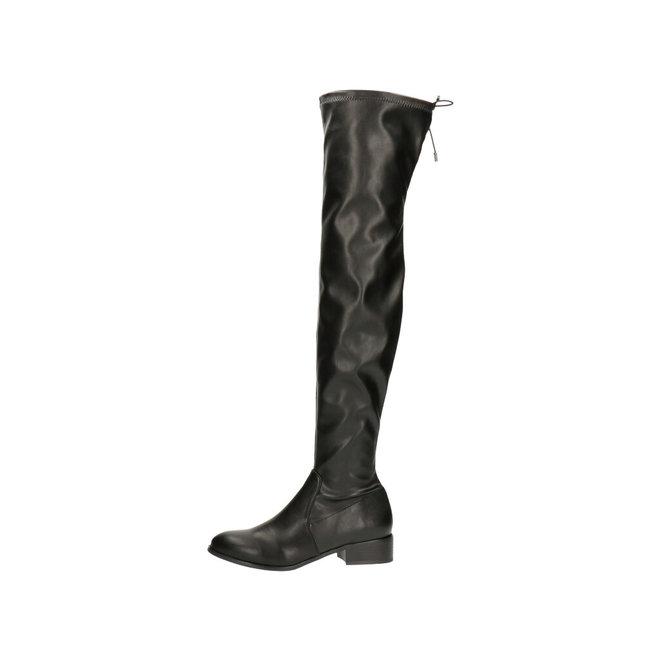 Overknee Boots Black 025519F7S_BKBKTD