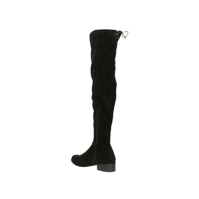Overknee-Stiefel Schwarz 025519F7T_BLCKTD