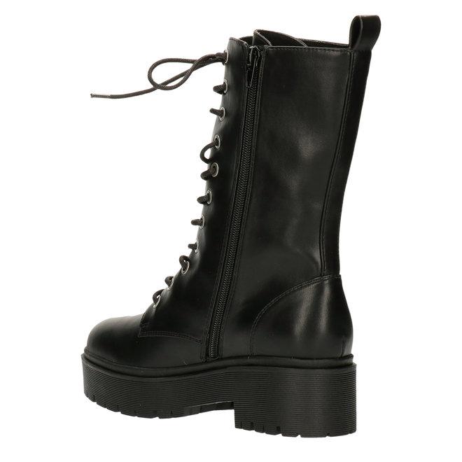 Biker Boots Black 129512F6S_BKBKTD