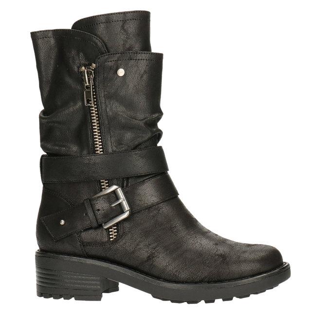 Laarzen Zwart 427621F6T_BKBKTD