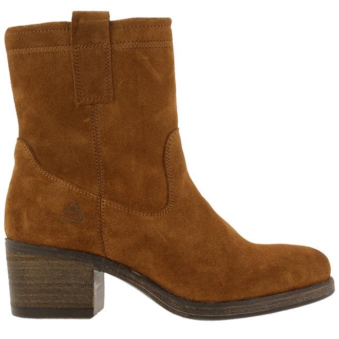 Ankle Boots Cognac