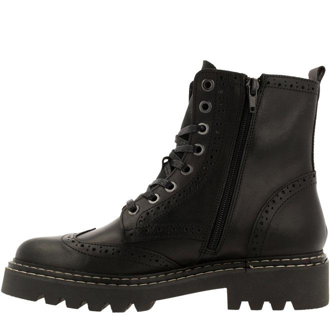 Biker Boots Black 576M80665ABKBRTD