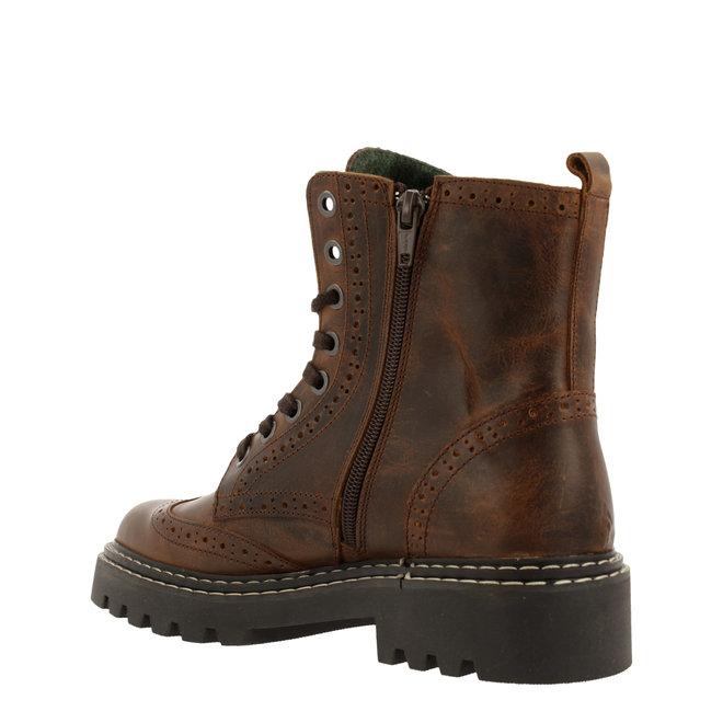 Biker Boots Brown 576M80665ABRKATD